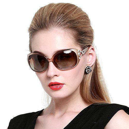 ea5a6bcf108 Duco 1220 Sunglasses that are Oversized and Polarized with UV Protection. Duco  Women s Shades Classic ...