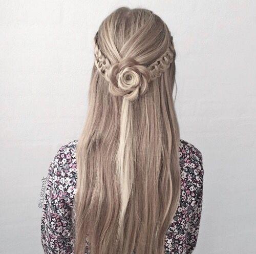 Pinterest Livybenedict101 Hair Styles Braided Prom Hair Pinterest Hair
