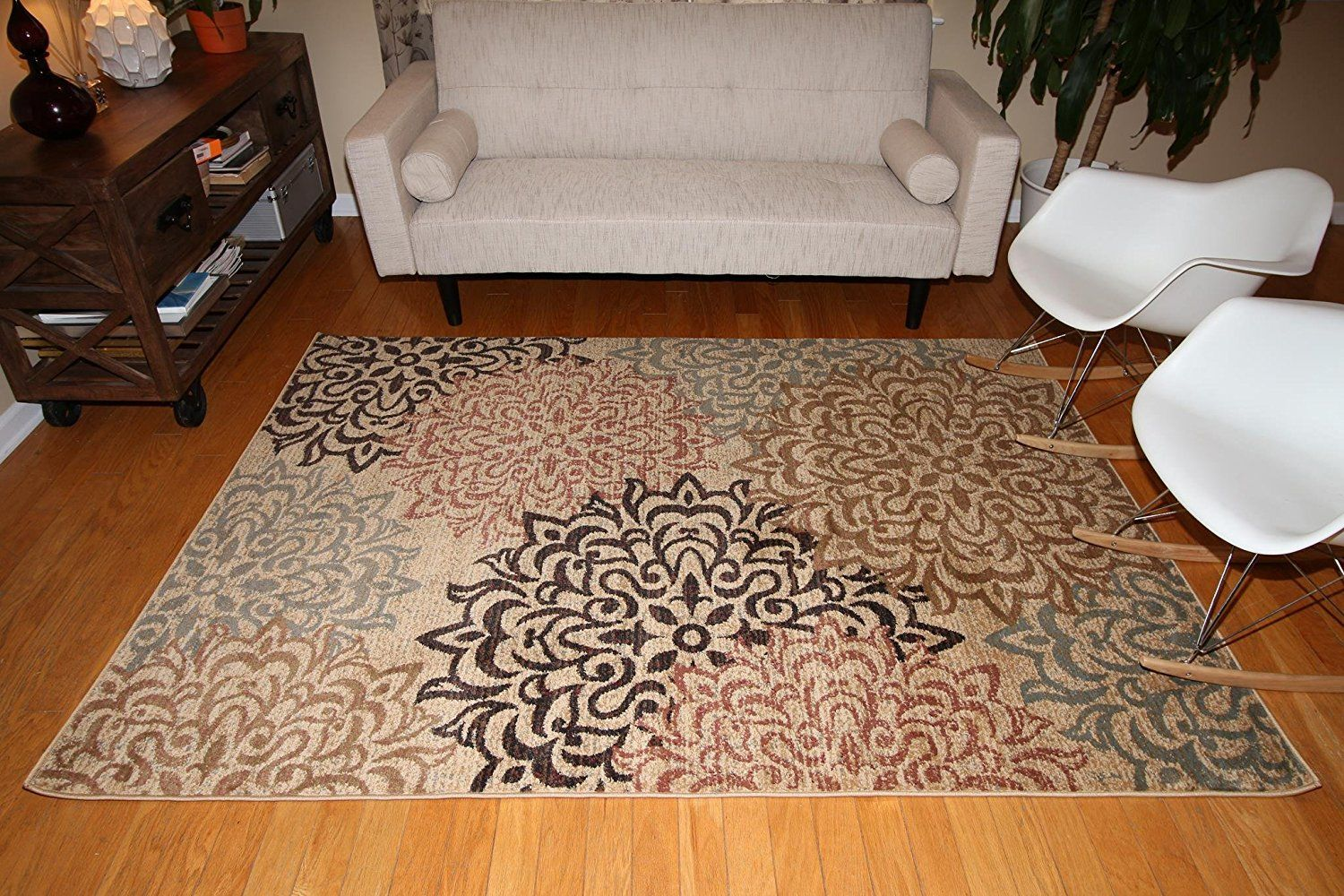 New City Contemporary Brown and Beige Modern