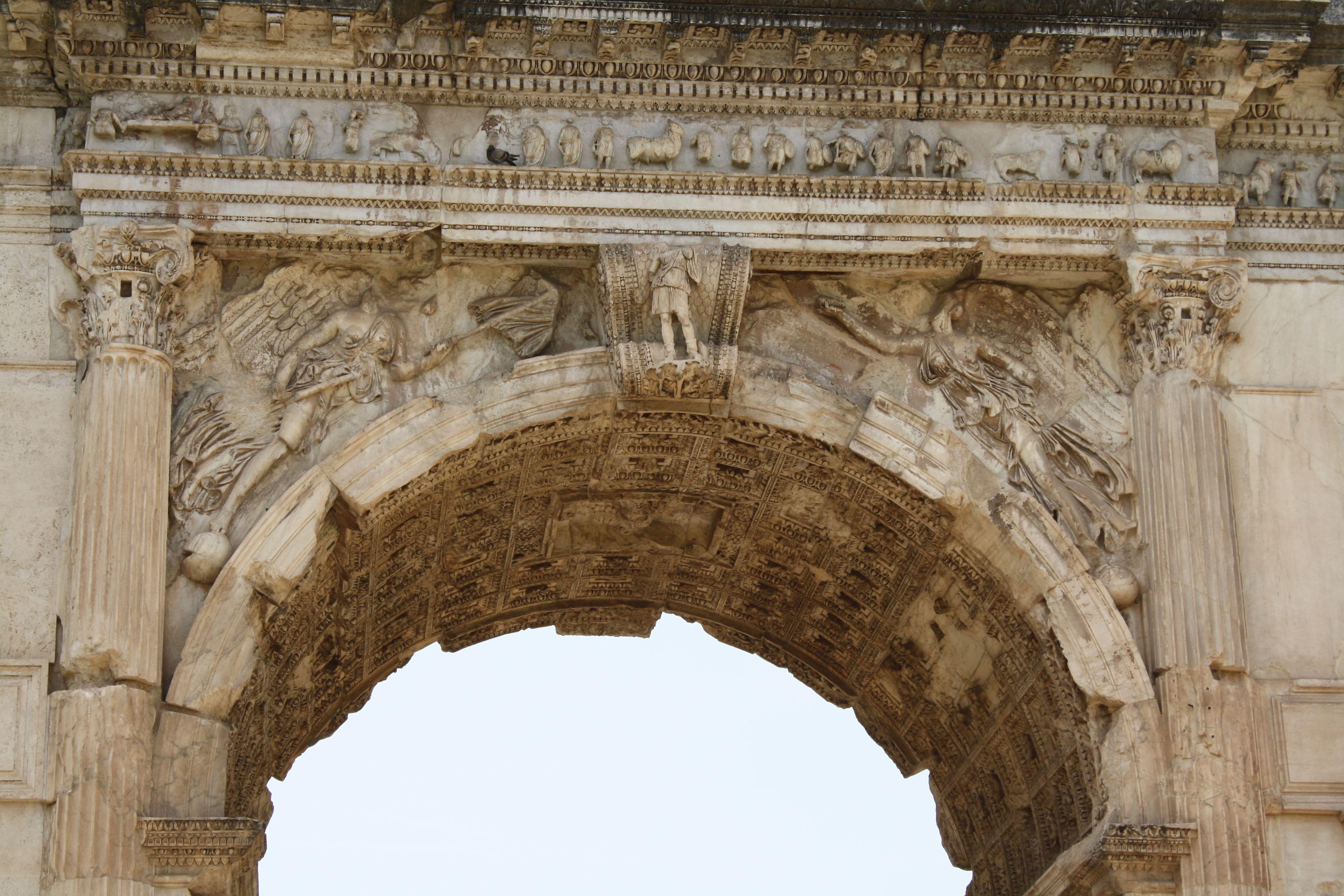 Roman Architecture Arches arch of titus, rome, italy. | architecture, design, style