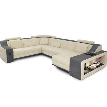 Couch u form modern  Bullhoff by Giovanni Capellini Sofa XXL Wohnlandschaft Stoffsofa ...