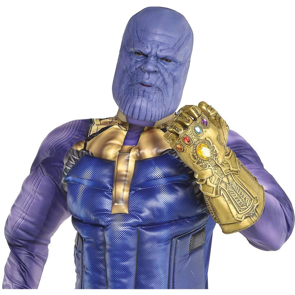 Adult Thanos Costume Accessory Kit Avengers Infinity