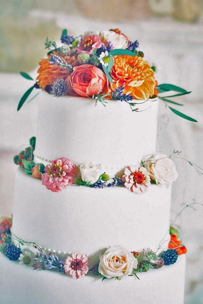 30 Beautiful Wedding Cakes The Best From Pinterest Wedding Cake