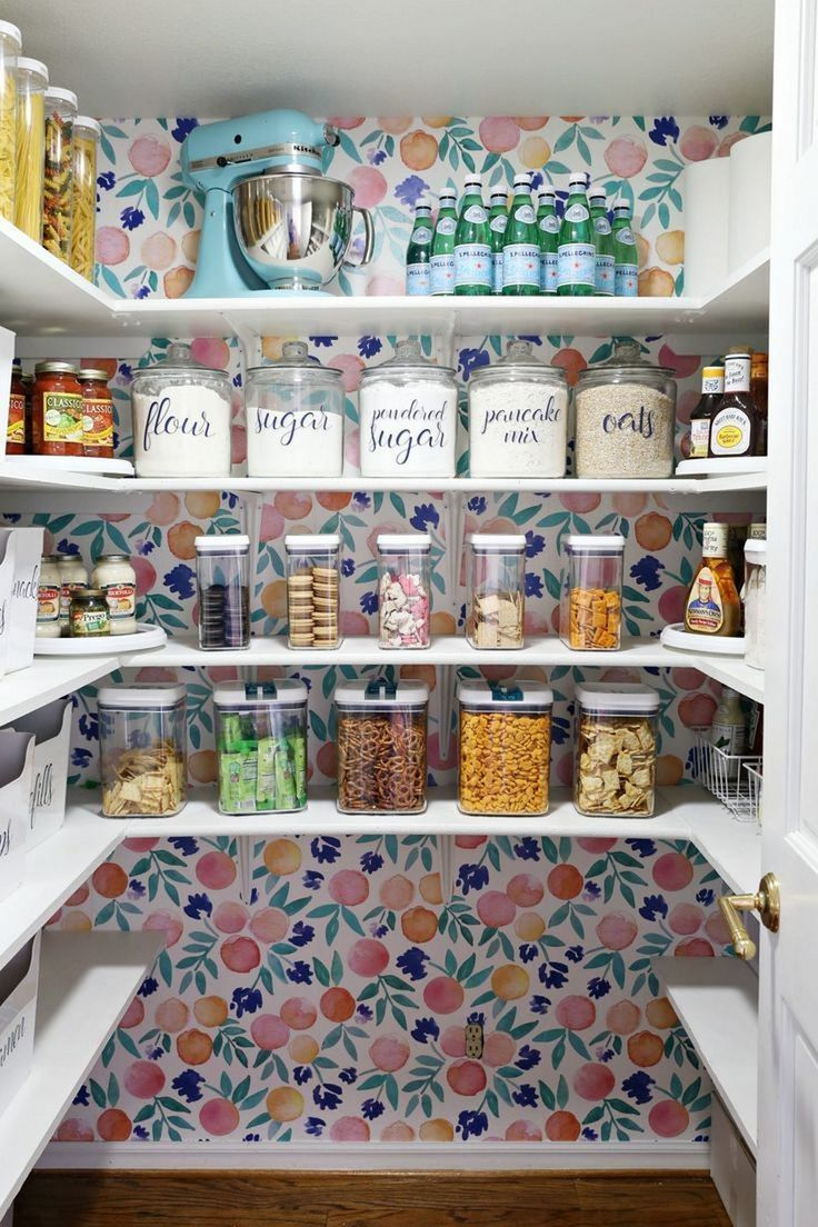 23 Small Pantry Organization Ideas - #dreamhouses #Ideas #Organization #Pantry #Small #pantryorganizationideas