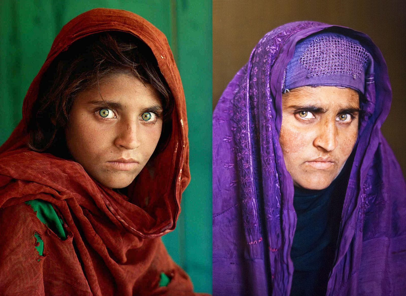 Steve Mccurry The Girl La Fille Afghan Girl Steve Mccurry