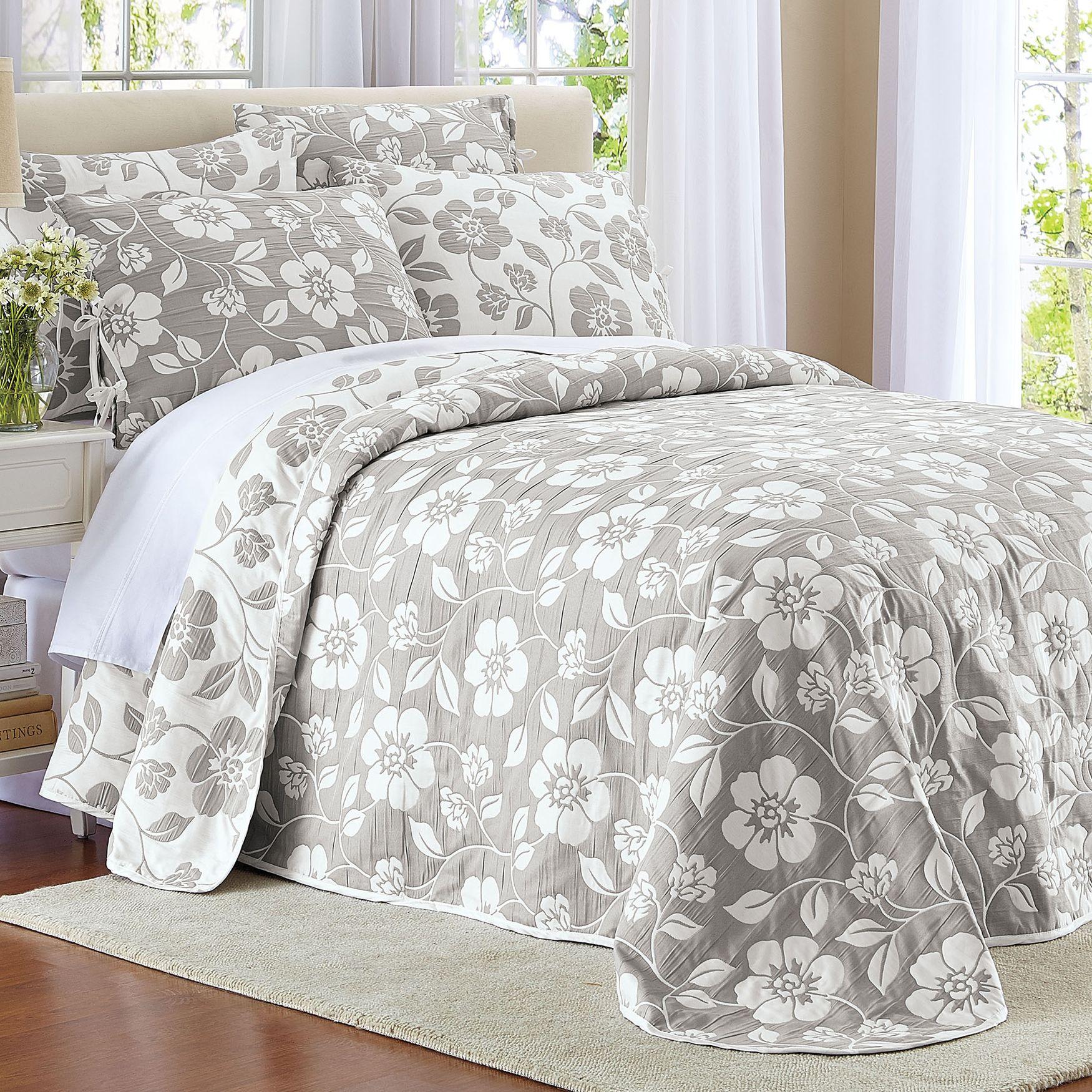 Flora Reversible Bedspread Bed Spreads Indoor Outdoor Furniture Furniture