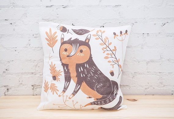 Pillow Cover  Throw Pillow Cover  Cushion Cover  by littleatae, €19.00