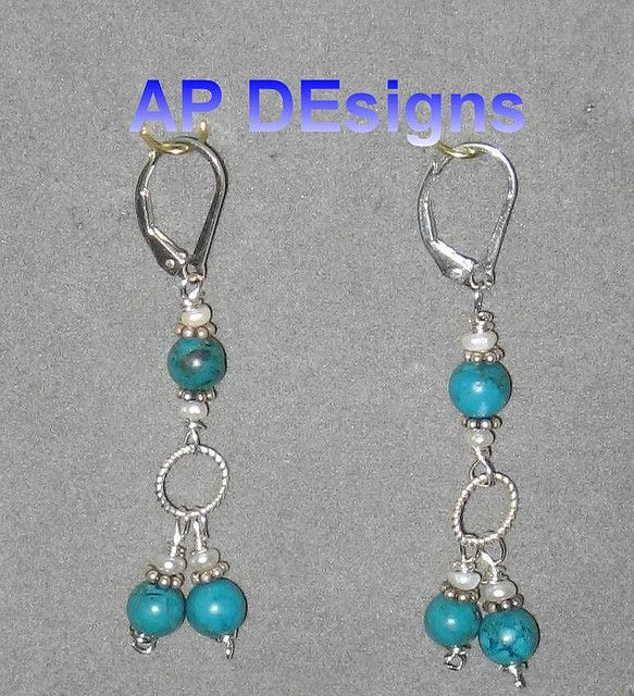 Sterling silver turquoise earrings lever back     See THESE beautiful photos of turquoise color birds & more. Check THIS Out & the latest Videos, Tips & Trends in Photography @ http://www.photopinns.com