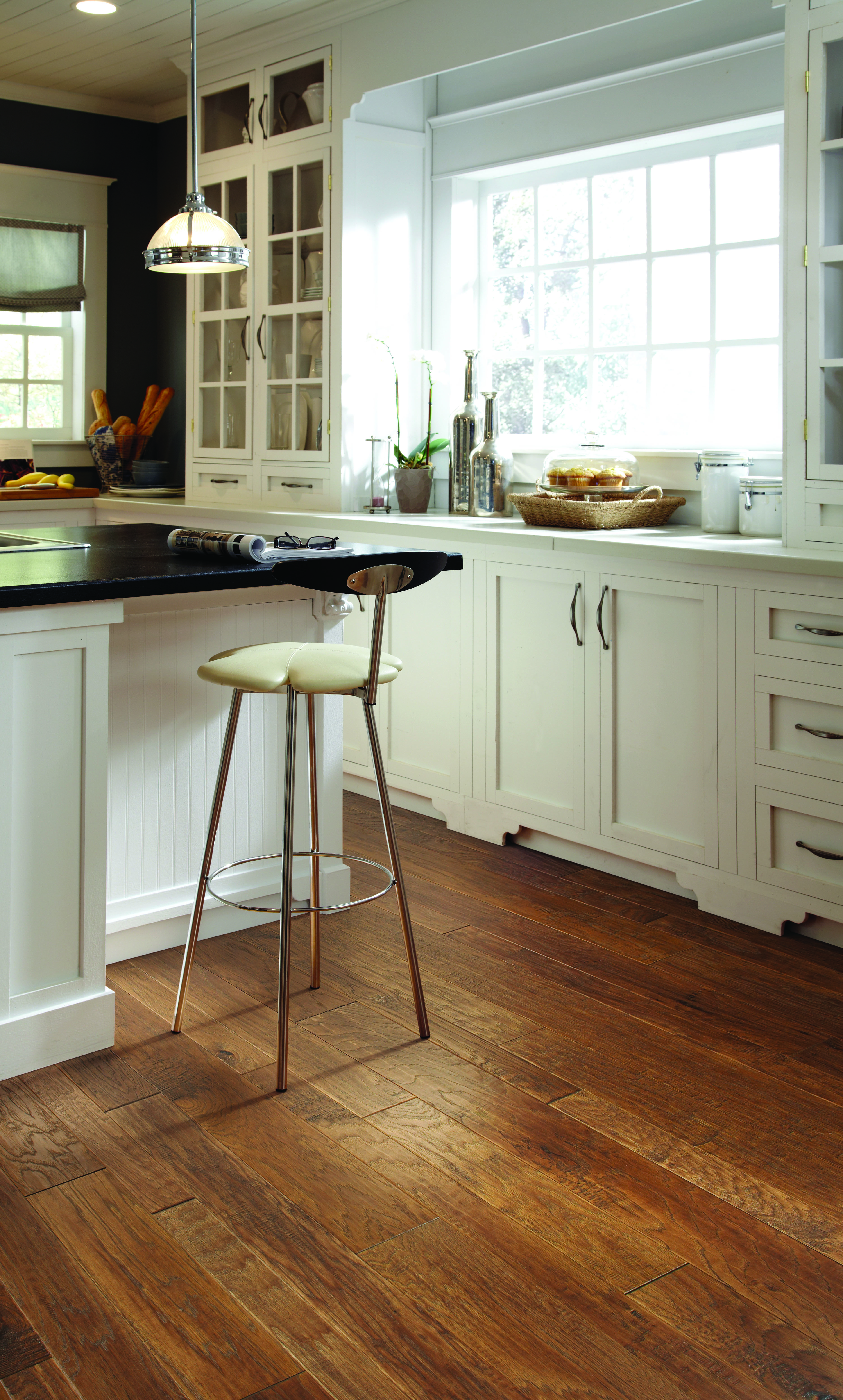Flooring Hardwood Refinishing Showrooms In Mokena Il And Highland In Transitional Kitchen Design Kitchen Remodel Kitchen Flooring