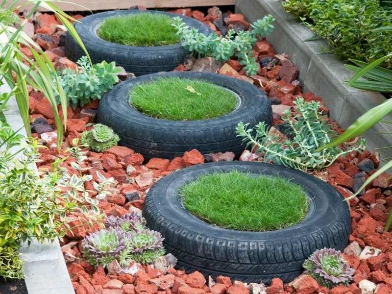 43 kreative Gartenideen – Möbel als Gartendeko nutzen