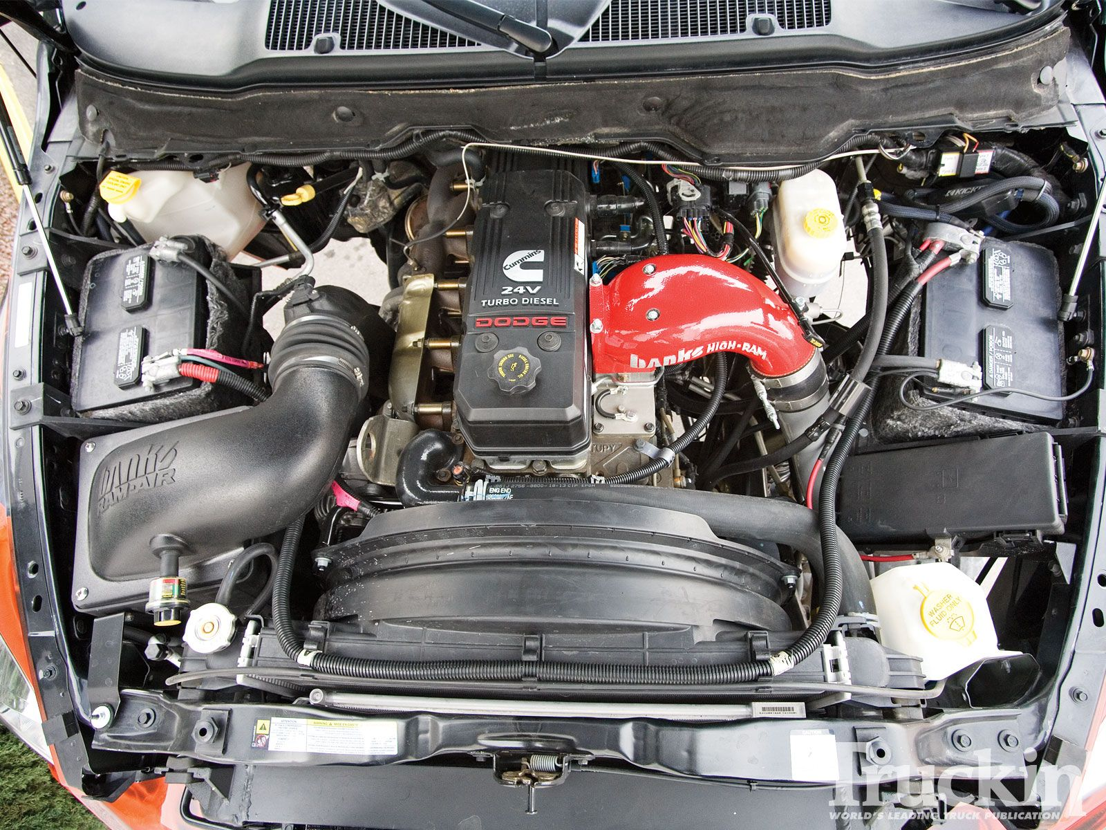 Dodge Ram 2500 2007 Used Engine Comes With Following Specification
