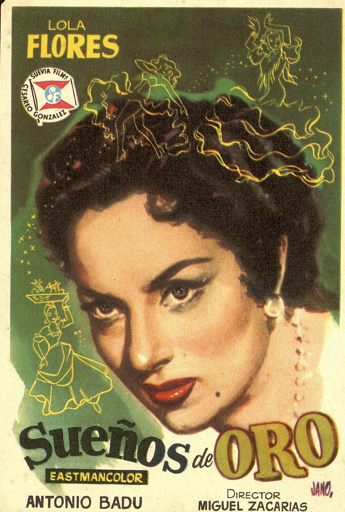 181.  JANO. Sueños de oro. Dirigida por Miguel Zacarías. [1958]. #ProgramasdeMano #BbtkULL #Diseñadores #Jano #DiadelLibro2014