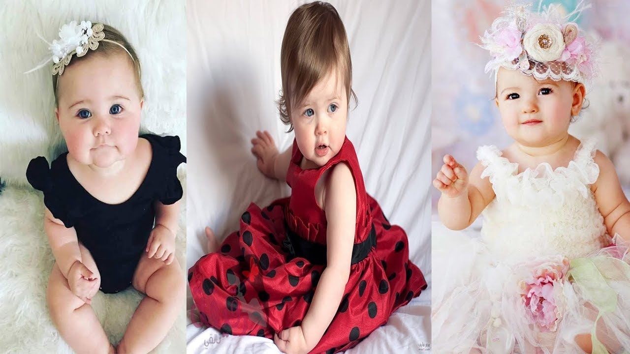 اجمل فساتين و ملابس اطفال ملابس بنات بيبي روعة Fashion Baby Chic Flower Girl Dresses Baby Fashion Wedding Dresses