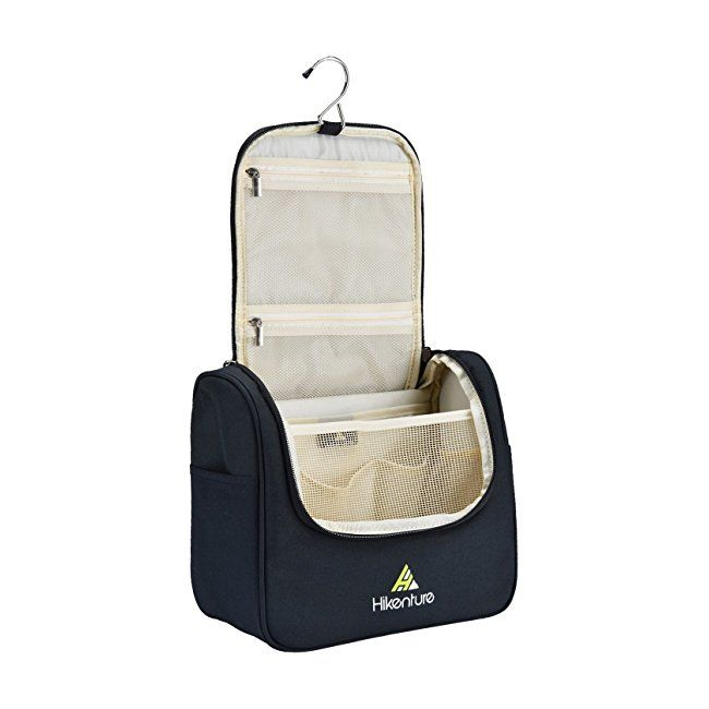 Hanging Bathroom Bag by Hikenture for Christmas Day Gift - Large Travel  Toiletries Kit - Durable 4c91e5a2283bb