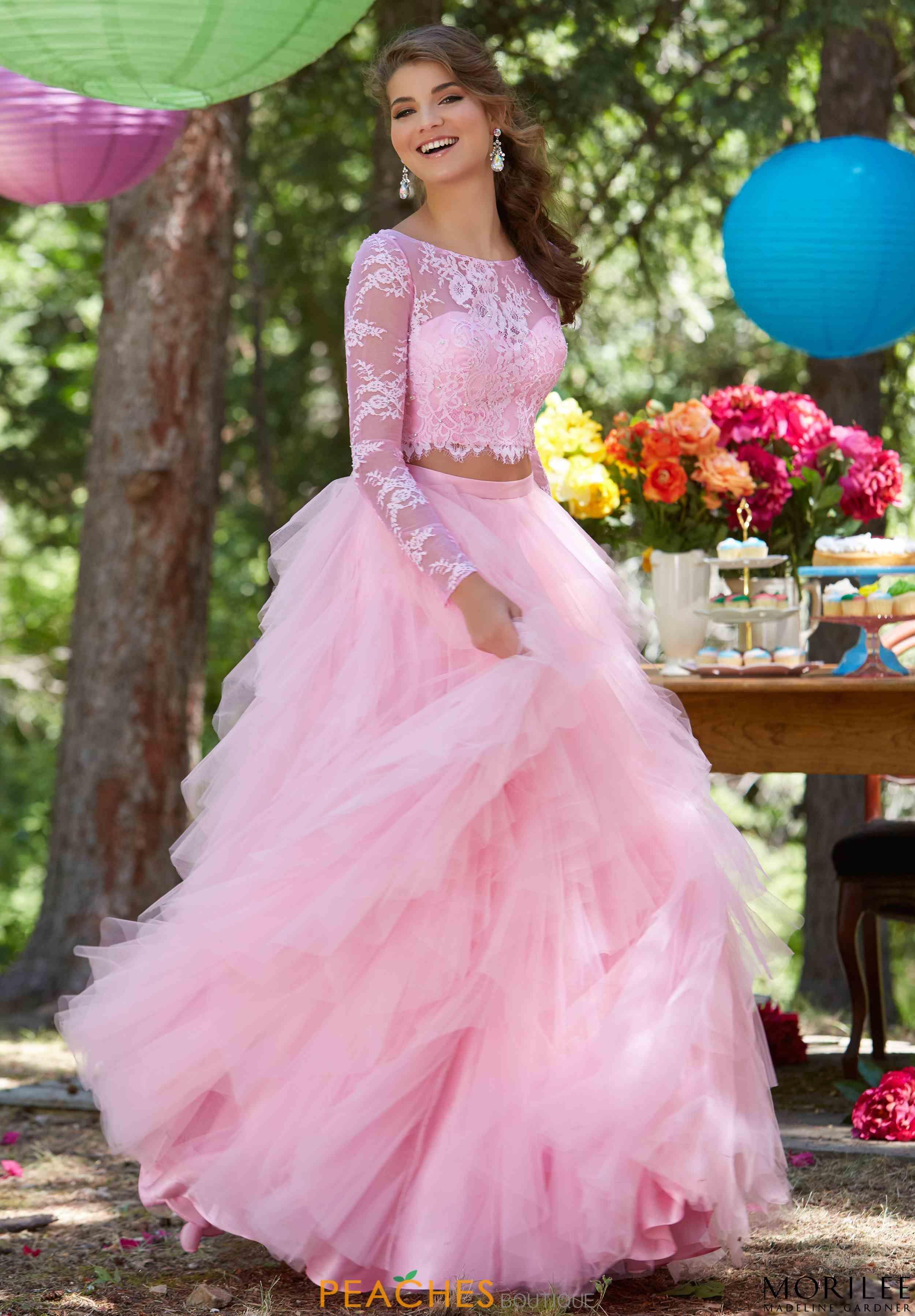 Hermosa Vestido De Novia De Encaje Lee Mori Cresta - Colección del ...