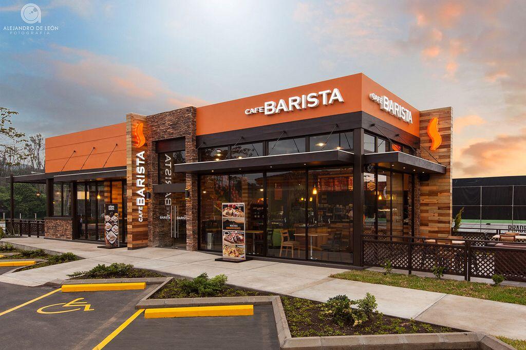 Cafe Barista | Restaurant exterior design, Cafe exterior ...