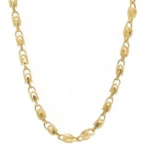 ab03118f6e0a6 Turkish Link Chain 14k Yellow Gold | Mens' Gold and Diamond Chains ...