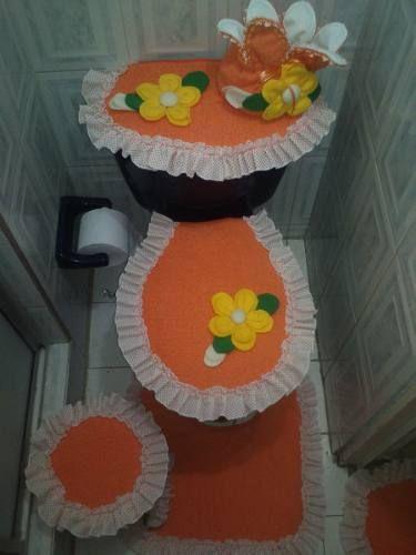Hermosos juegos de ba o decorativos seis piezas recetas - Agarraderas para bano ...