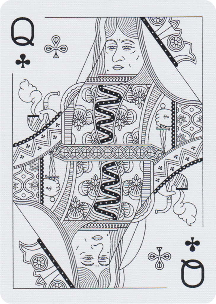 From Misc. Goods Co. we are pleased to present their newest pack of playing cards. TheCina Deck is a completely redesigned edition of their trademark deck done