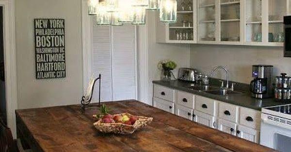 Amazing Rustic Kitchen Island DIY Ideas 9 DIY ideas and Craft