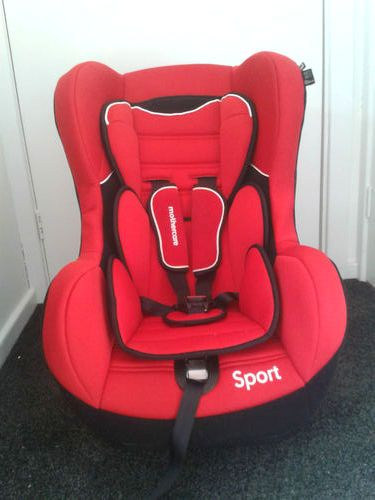 Second Hand Mother Care Sport Car Seat In Red For Sale In New Delhi