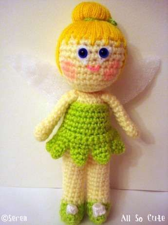 Amigurumi Tinkerbell Stuff I Want To Make Pinterest Tinkerbell