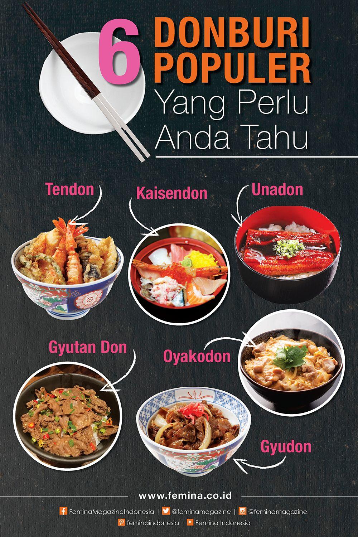 6 Resep Nasi Campur Donburi Resep Makanan Makanan Resep