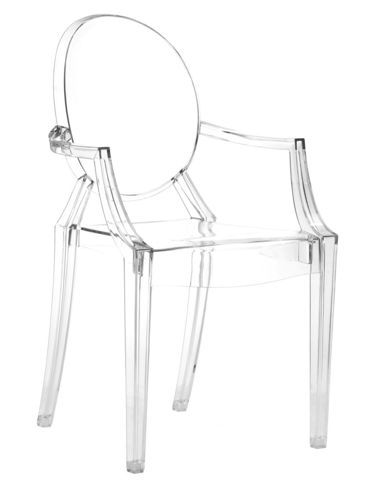 Anime Dining Chair Transparent Acrylic Zuo Modern Domino Com