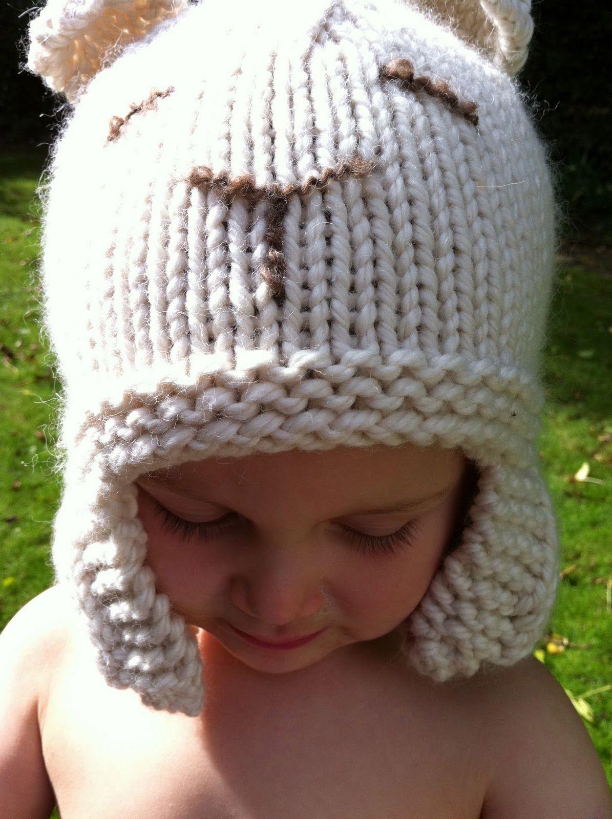 Stitch me Softly...: Sleepy Polar Bear Hat - knitting pattern | Xmas ...