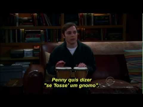 Sheldon Cooper tocando bongô (Legendado) - The Big Bang Theory