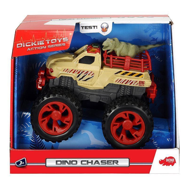 Dickie Toys Action Dino Hunter Vehicle, Multicolor