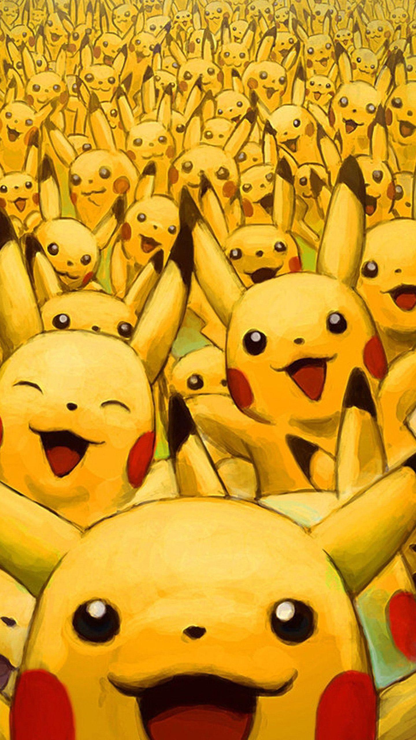 Wild pikachus Note 4 Wallpapers Pikachu wallpaper