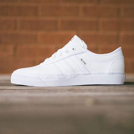 """Mens Sneakers For Sale. adidas Skateboarding adi-Ease Nestor  """"All White"""" e34fd81c4"""