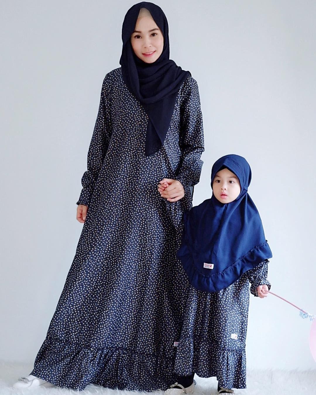 12+ Model Gamis Couple Ibu dan Anak Perempuan Terbaru 12  Gaya