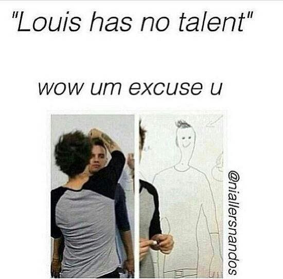 Louis is so talented