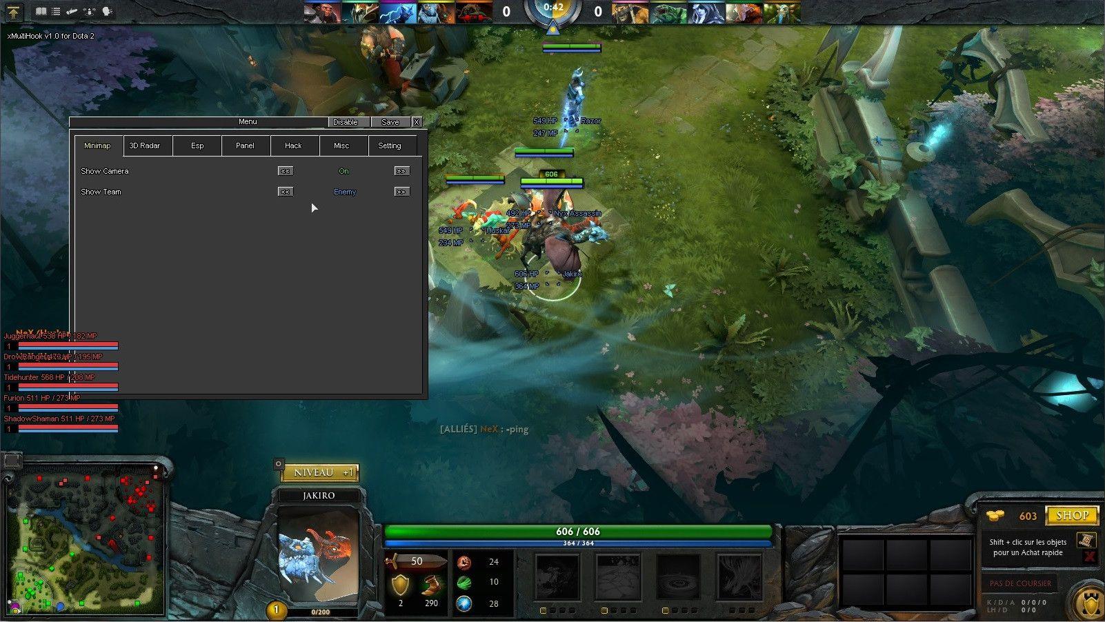 Dota 2 Map Hack | Serdar | Working games, Dota 2 game, Dota 2