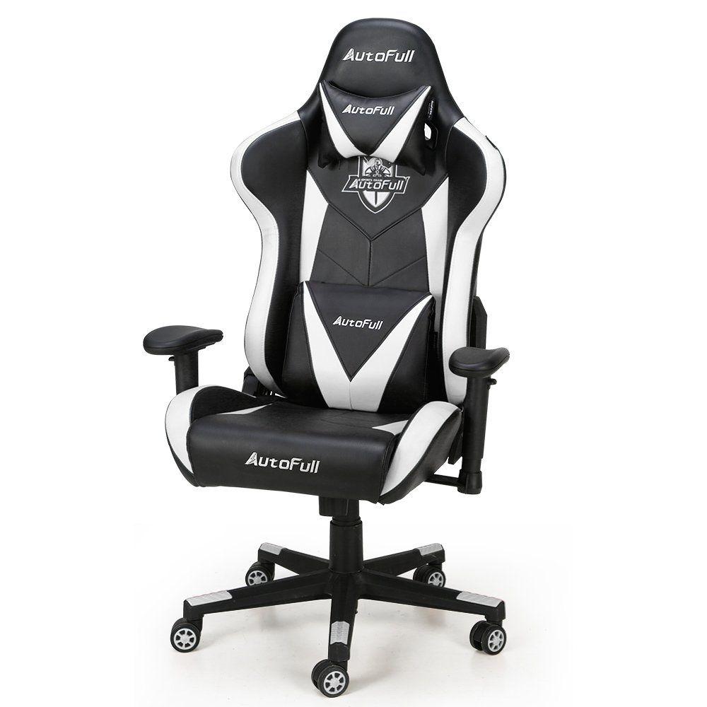 Autofull computer gaming chair adjustable reclining