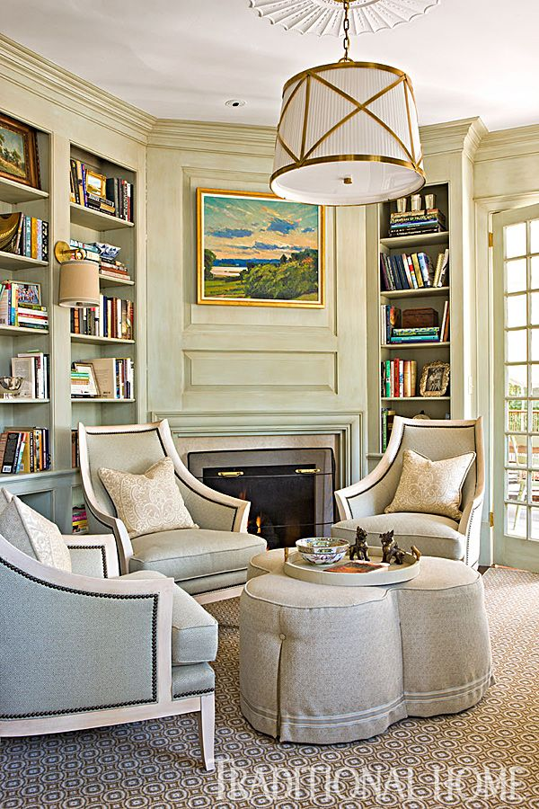 Beautiful Home Library Rooms: Colorful Family Home In Washington, D.C.