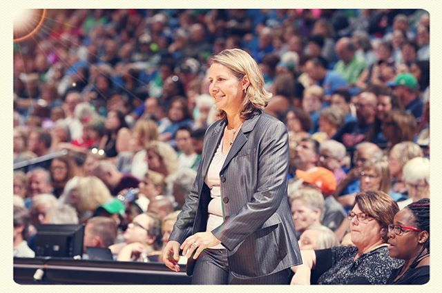 Congratulations to Cheryl Reeve on being named WNBA Coach of the Year. #WatchMeWork