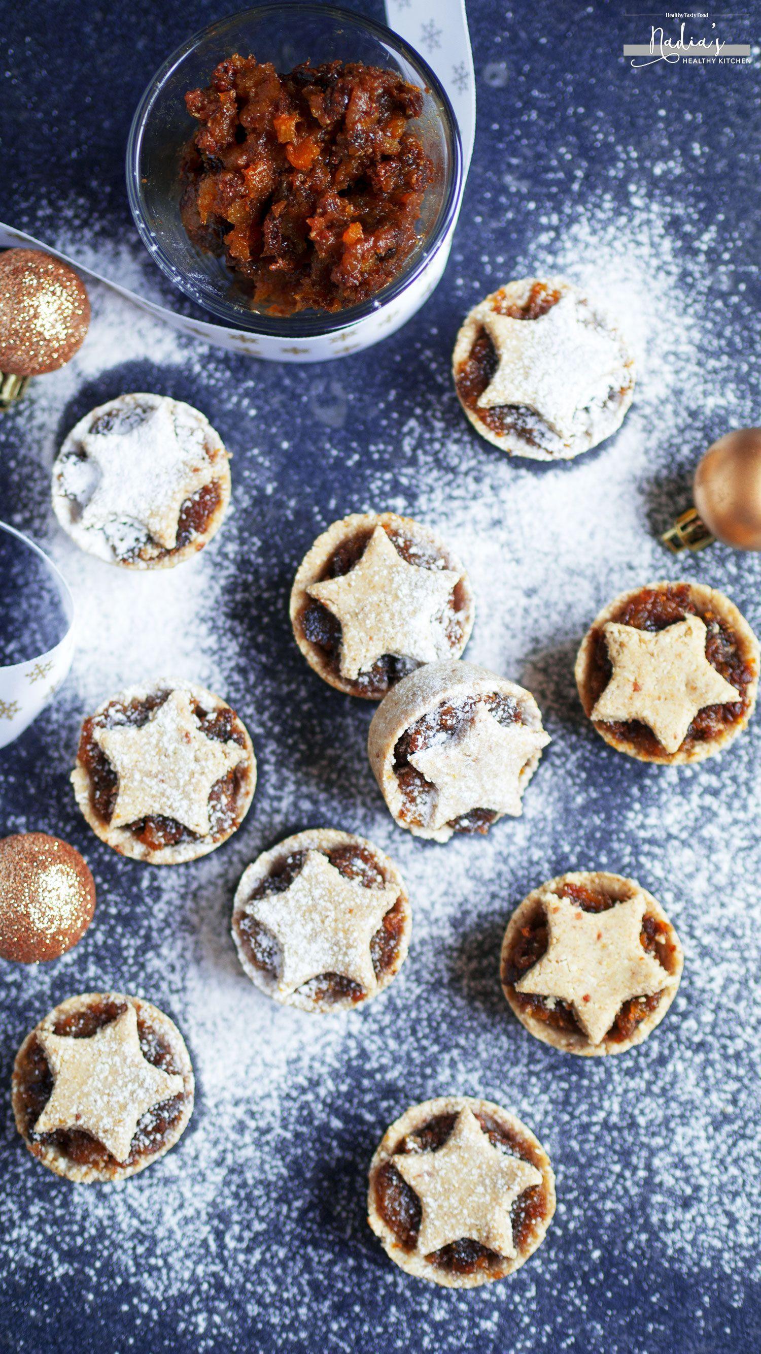Raw Mince Pies Recipe Vegan Gluten Free Uk Health Blog