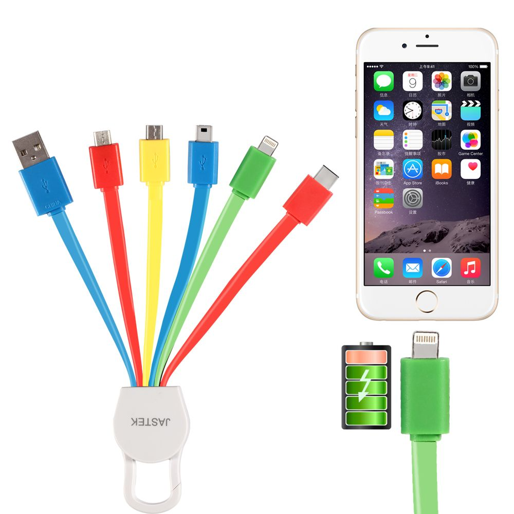 Mini 4 Usb 1 4 Inch 3 Charge 5 Micro Up Pin 8 Car To Device For Premium Portable Wire Multipack Extension Lighting Tip 2x Multi Charger Phone Gadgets Micro Usb