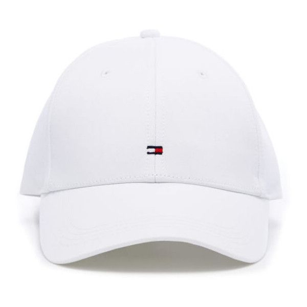 1560e4d877e Tommy Hilfiger Men s Classic Cap - Classic White (41 AUD) ❤ liked on  Polyvore featuring men s fashion