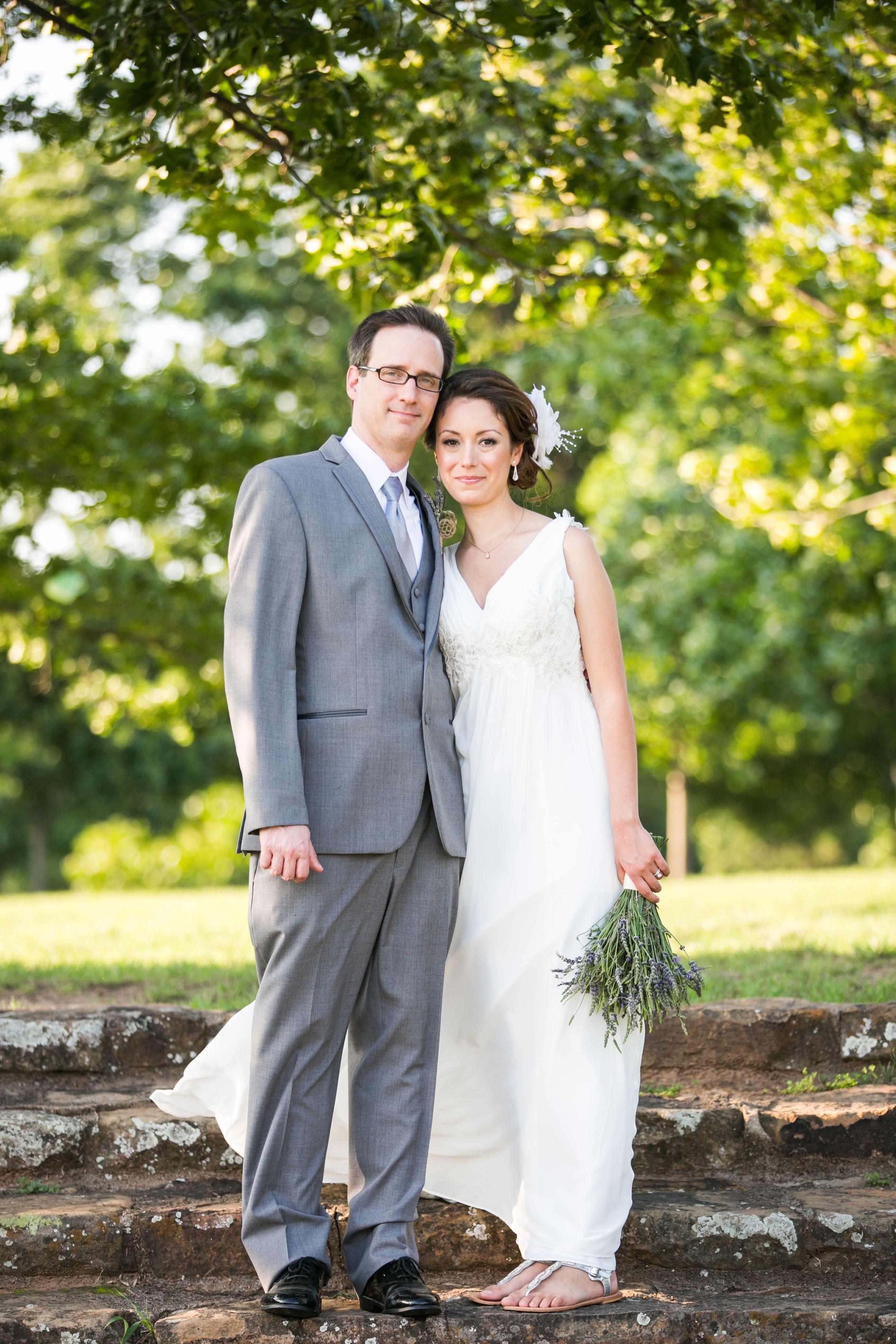 Tulsa Wedding Photographer Tulsa Garden Center Wedding Bride And Groom