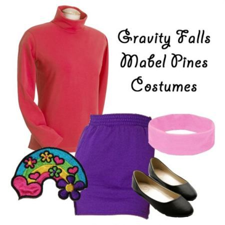 Gravity Falls Mabel Pines Costume  sc 1 st  Pinterest & Gravity Falls Mabel Pines Costume | Disney | Pinterest | Mabel pines ...