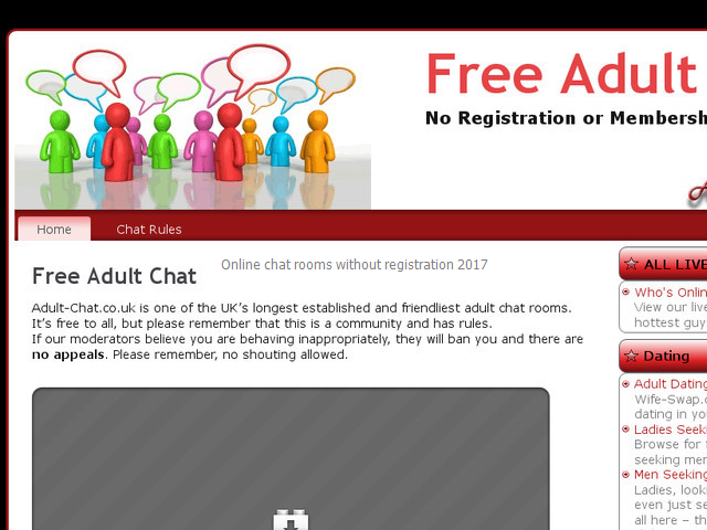 Adult chat no registration