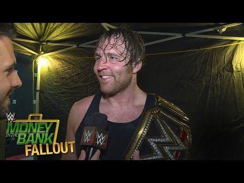 #DeanAmbrose #WWEWorldHeavyweightChampion #MITB