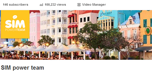 Awesome In A Very Short Time More Than 100.000 Views And 126 Subscribers At One Of Our YouTube Channels .