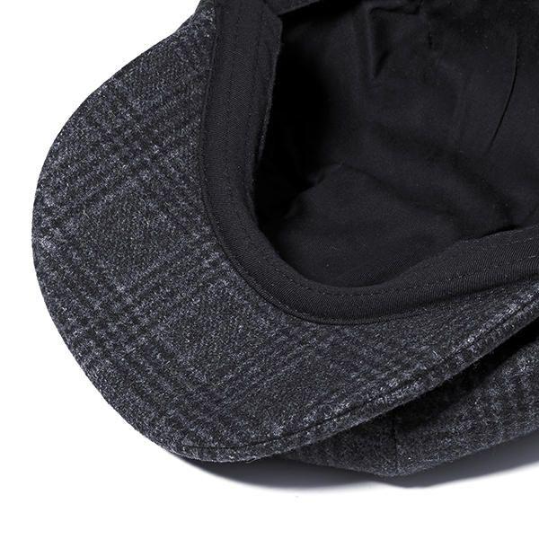 25d9fe81231 Men Vintage Wool Gird Beret Hat Winter Warm Gentleman Octagonal Cap - Banggood  Mobile