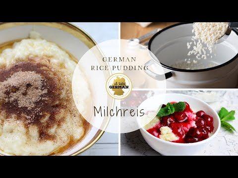 German Rice Pudding - Milchreis | Recipe in 2020 | Rice ...