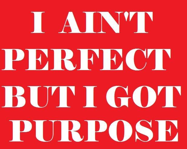 I Aint Perfect Ain T Perfect But I Got Purpose Quotes Pinterest Purpose Quotes Funny Memes Quotes